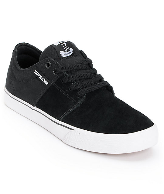 Supra TK Stacks Vulc Black & White Canvas Supra
