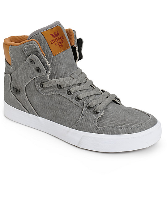 Supra Vaider Canvas Skate Shoes