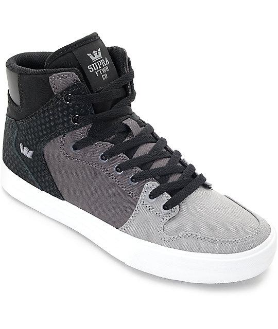 Supra Vaider Gradient Grey Skate Shoes