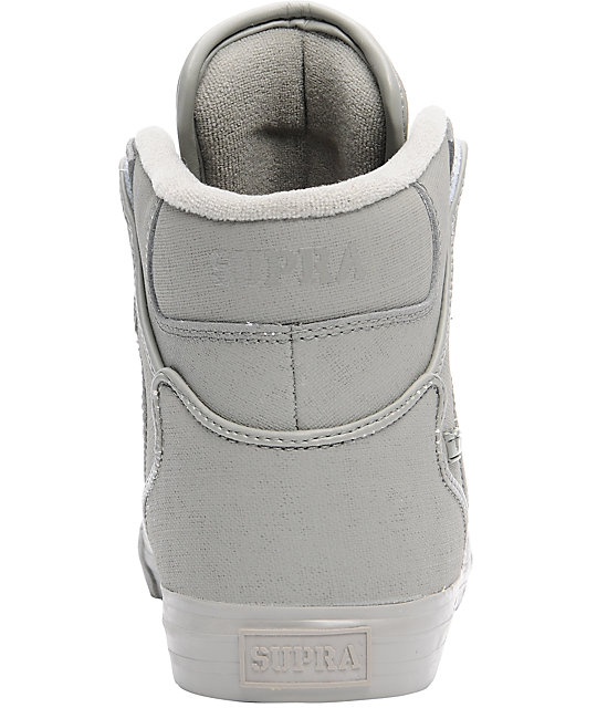 Supra Vaider Grey Gunny Tuf Shoes