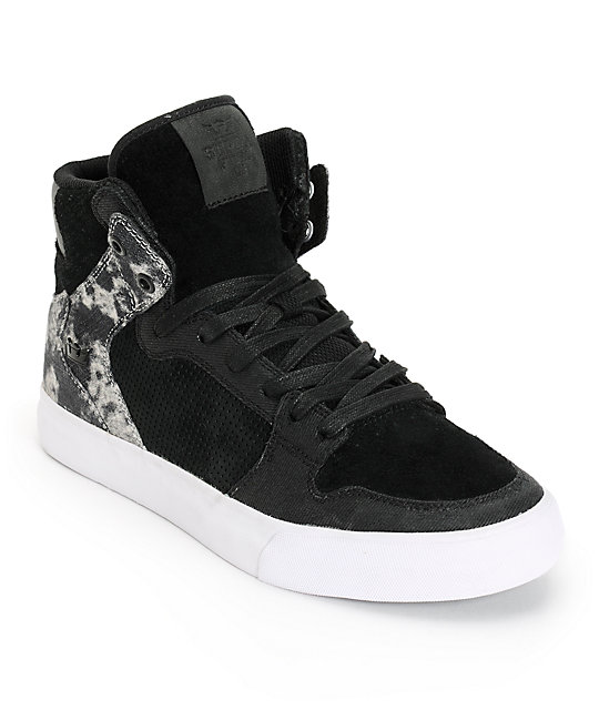 Supra Vaider Smokey Denim Shoes
