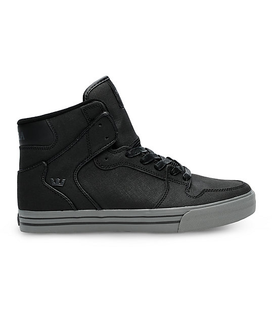 Supra Vaider Tuf Black Gunny Shoes