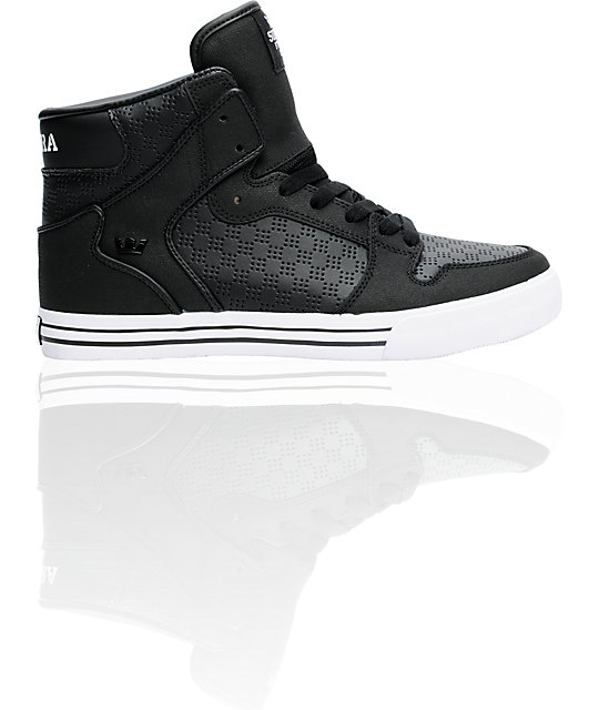 Supra Vaider Tuf Black Shoes