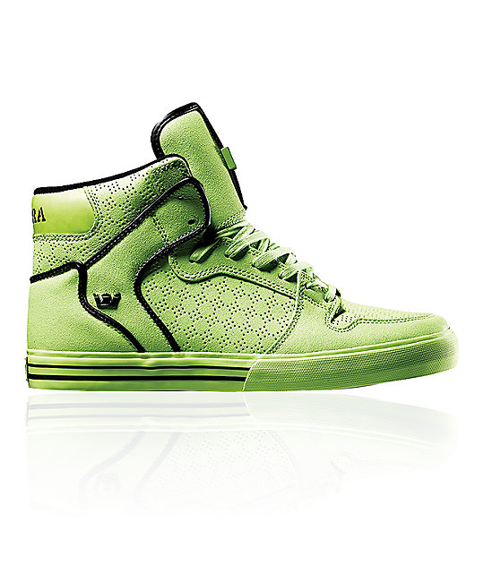 Supra Vaider Tuf Neon Tennis Shoes