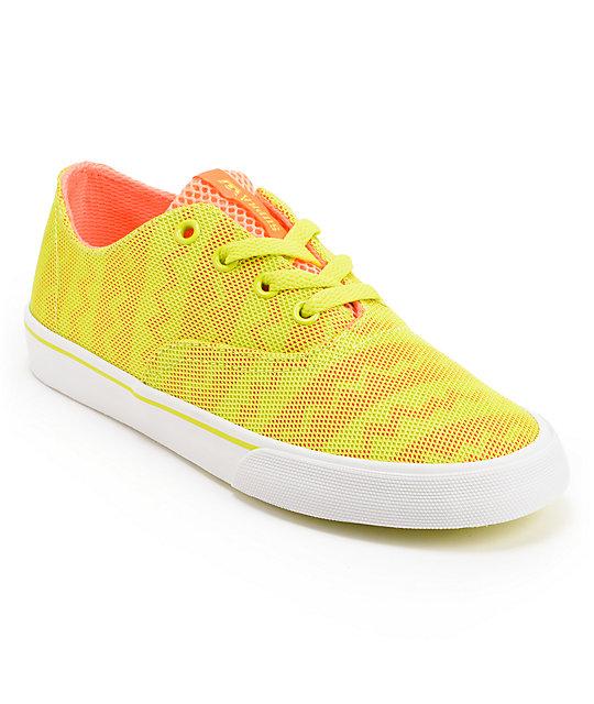 supra womens wrap orange tennis shoes