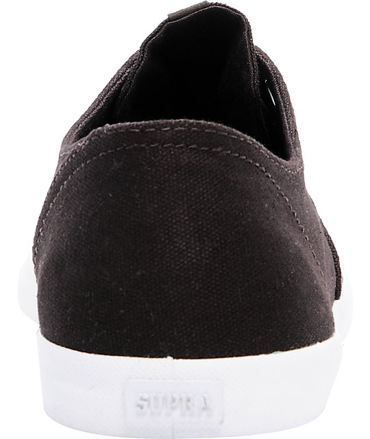 Supra Wrap Brown Canvas Shoes