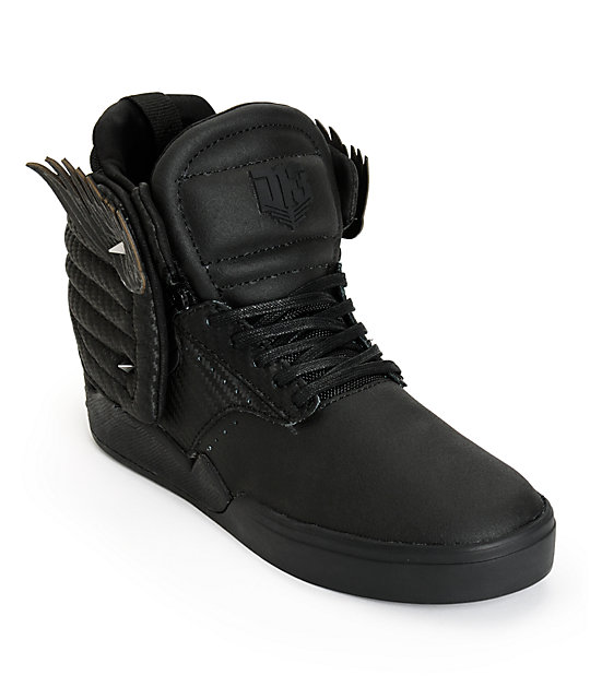 Supra X The Hunger Games Skytop Iv District 13 Skate Shoes
