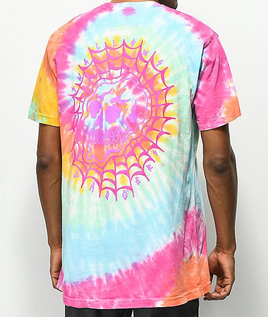 Dye Daggers Web Camiseta Skull Efecto Con Swallowsamp; Tie f6ygY7vb