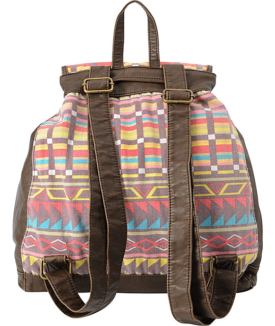 T-Shirt & Jeans Blanket Backpack