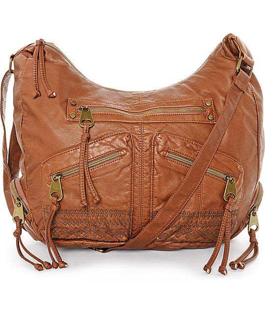 T-Shirt & Jeans Kerri Cognac Tote Bag