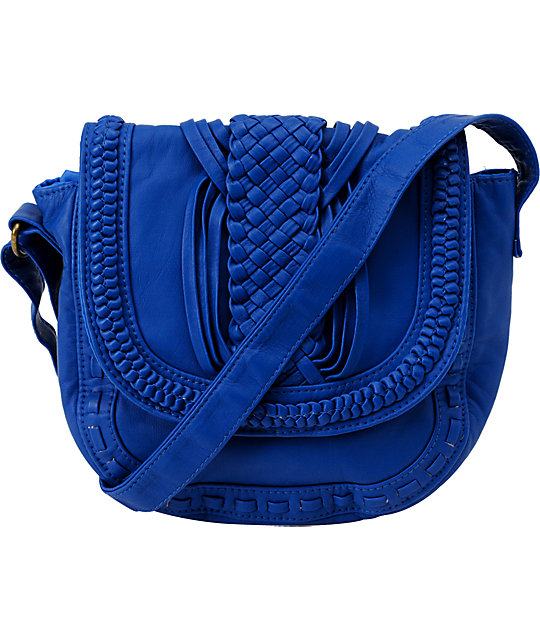 T-Shirt & Jeans Little Cobalt Blue Crossbody Purse