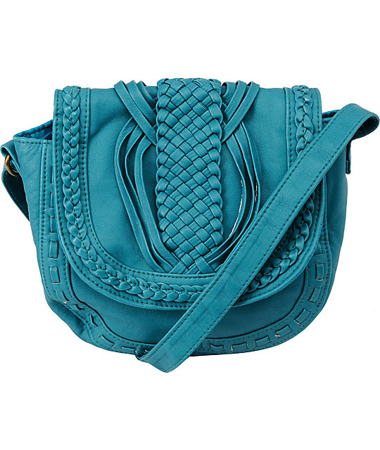 T-Shirt & Jeans Little Turquoise Crossbody Purse