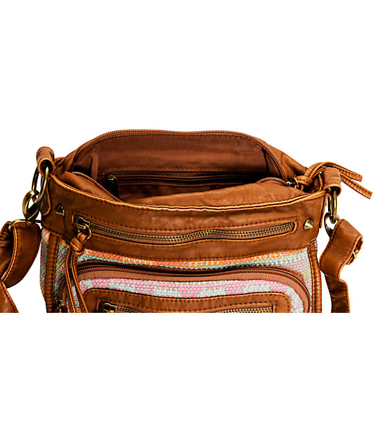 T-Shirt & Jeans Tribal Blanket Crossbody Purse