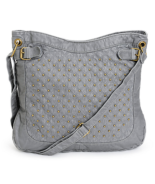 dce932c97fc97c Grey Leather Studded Tote Bags | Stanford Center for Opportunity ...
