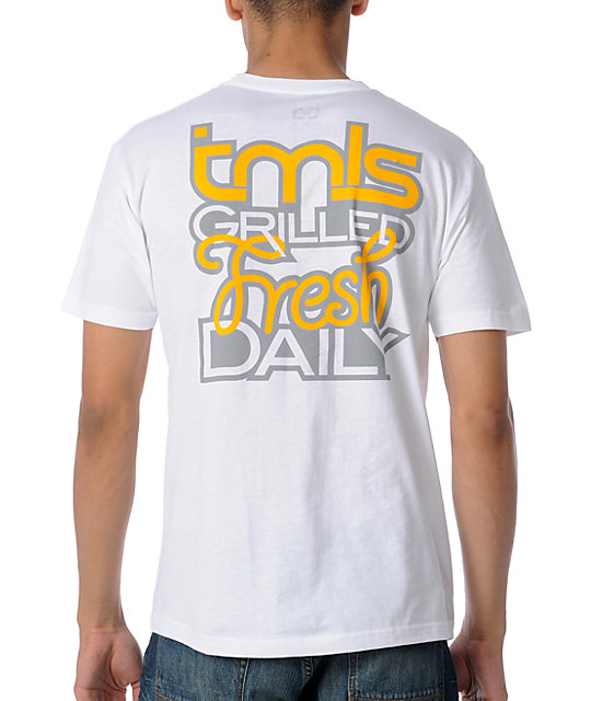 TMLS Grilled Fresh White T-Shirt