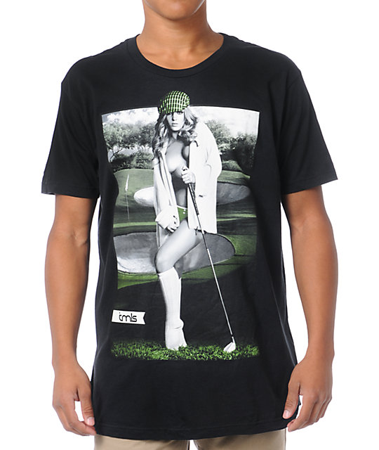 TMLS Hole In One Black T-Shirt