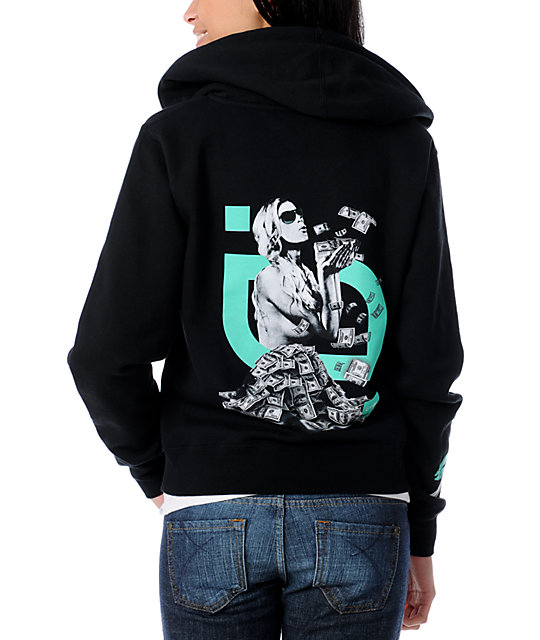 TMLS Money To Blow Black & Mint Full Zip Sweatshirt