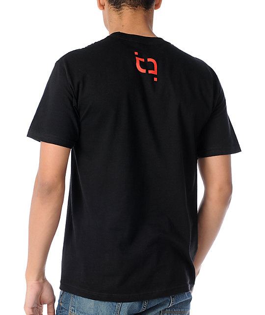 TMLS Nightcap Black & Red T-Shirt