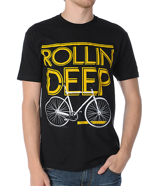 TMLS Rollin Deep Black T-Shirt
