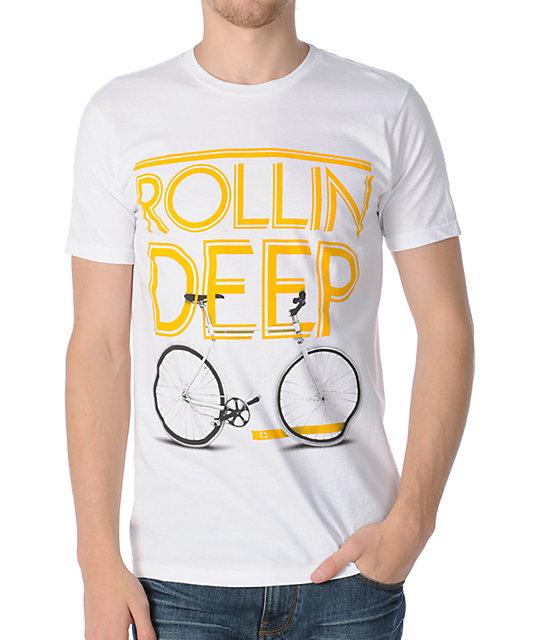 TMLS Rollin Deep White T-Shirt
