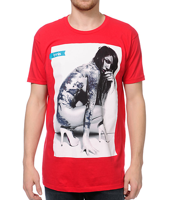 TMLS Tatted Red T-Shirt