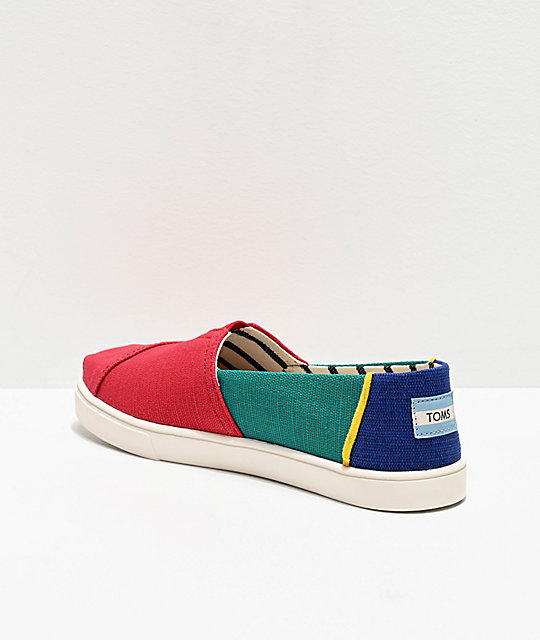 De Zapatos Multicolor Toms Alpargata De Toms Zapatos Alpargata Multicolor wP0Okn