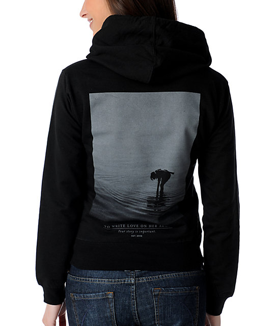 TWLOHA Different Drum Black Pullover Hoodie