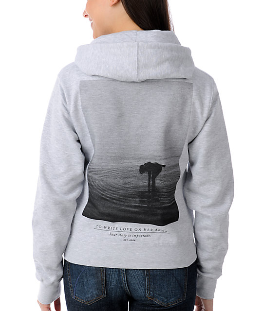 TWLOHA Different Drum Grey Pullover Hoodie