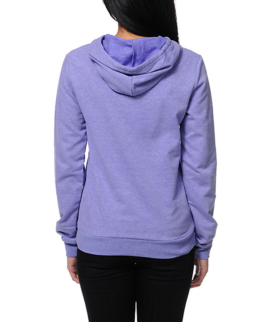 TWLOHA Dove Heahter Purple Pullover Hoodie