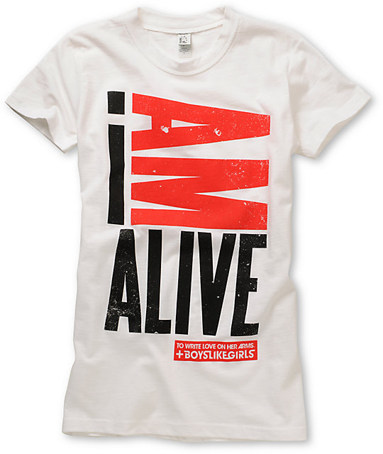 TWLOHA I Am Alive White T-Shirt