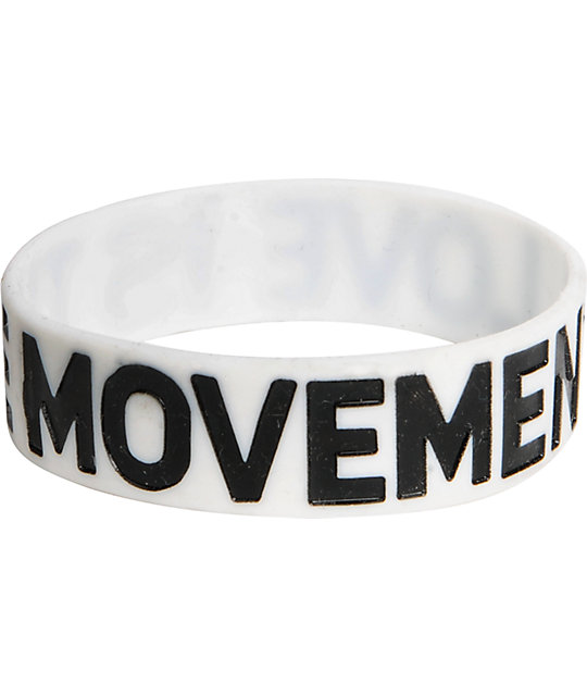 TWLOHA Love Is The Movement White Bracelet