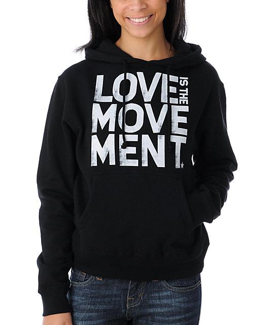 TWLOHA Movement Black Pullover Hoodie