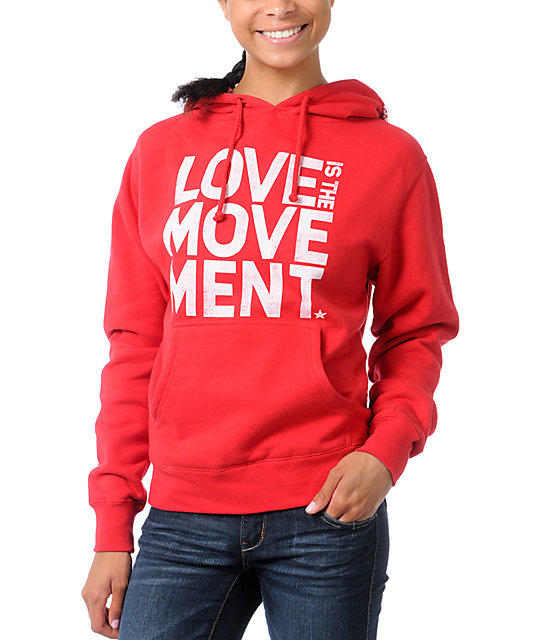 TWLOHA Movement Red Pullover Hoodie