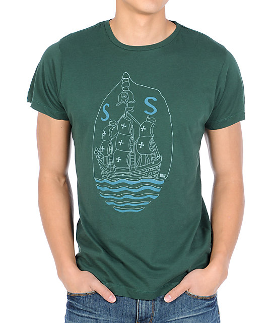 Tea In The Woods San Sebastian Green T-Shirt