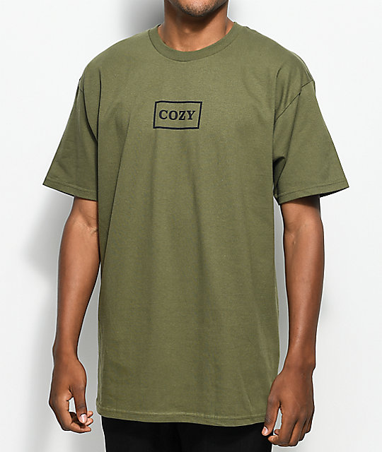 Team Cozy OG Box Olive T-Shirt