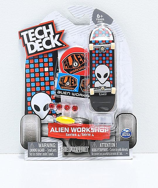 Golden Skateboard Deck Tech Deck Toy Skateboard