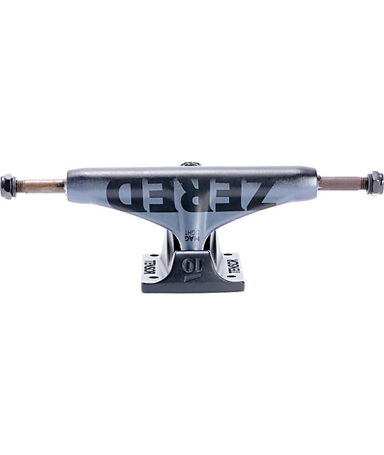 Tensor Zered Magnesium Light 5.25 Mid Gunmetal Skateboard Truck