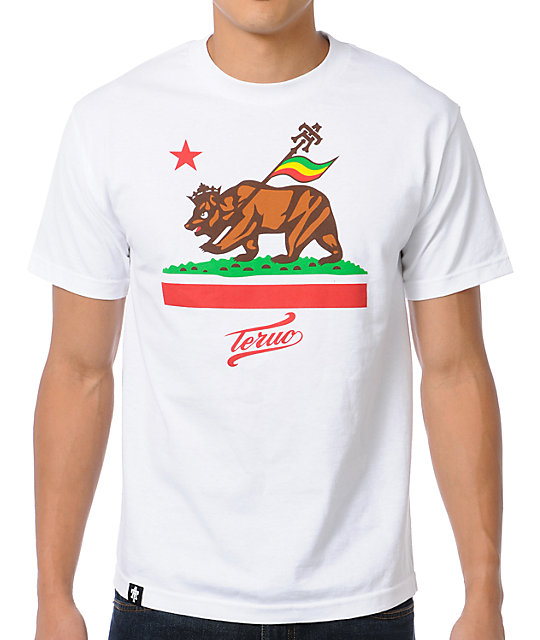 Teruo Jah Cali White T-Shirt