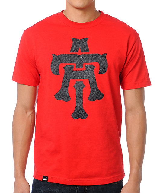 Teruo TA Elephant Red T-Shirt
