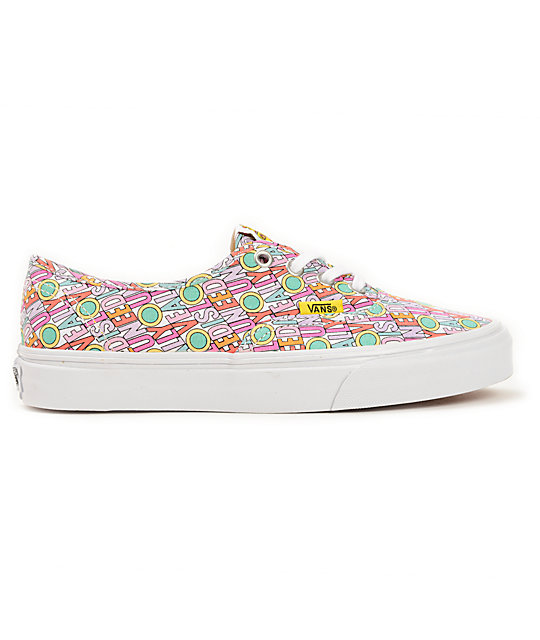 The Beatles x Vans Authentic Yellow Submarine Shoes
