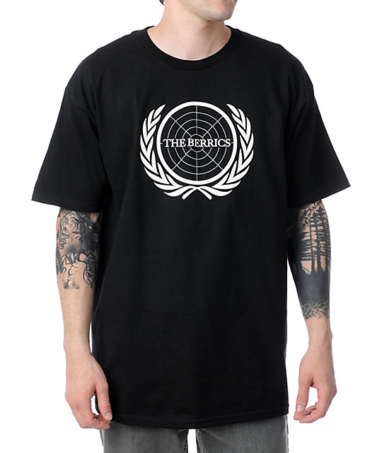The Berrics Icon Black T-Shirt
