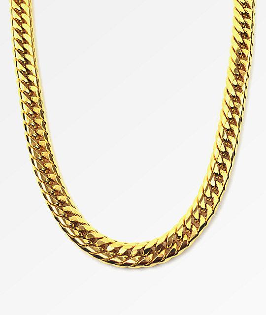 The Gold Gods Cuban Link Necklace At Zumiez Pdp