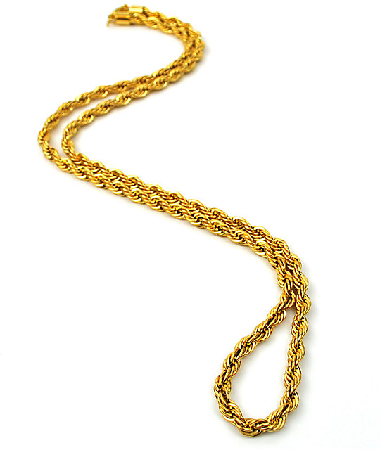The Gold Gods collar de cadena cuerda