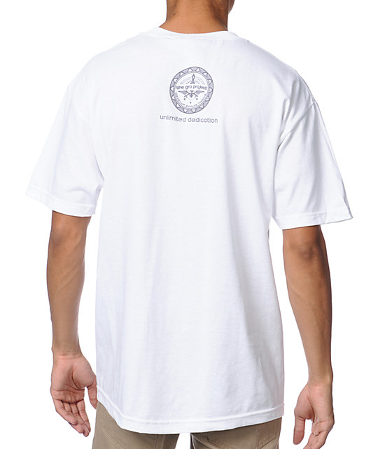 The Gro Project Ablaster White T-Shirt