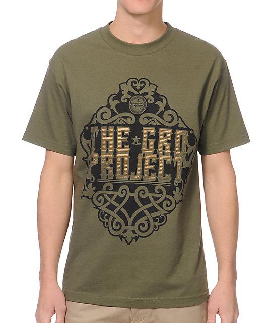The Gro Project Nouveau Dark Green T-Shirt
