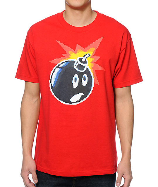 The Hundreds 16 Bit Adam Red T-Shirt
