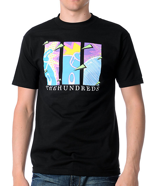 The Hundreds 80s Black T-Shirt