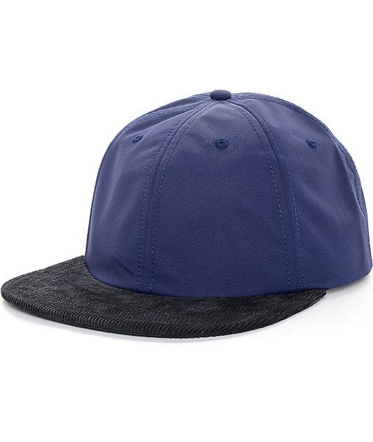 The Hundreds AT Navy Snapback Hat