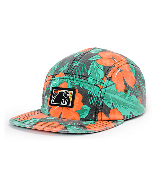 The Hundreds Aloha Camo 5 Panel Hat