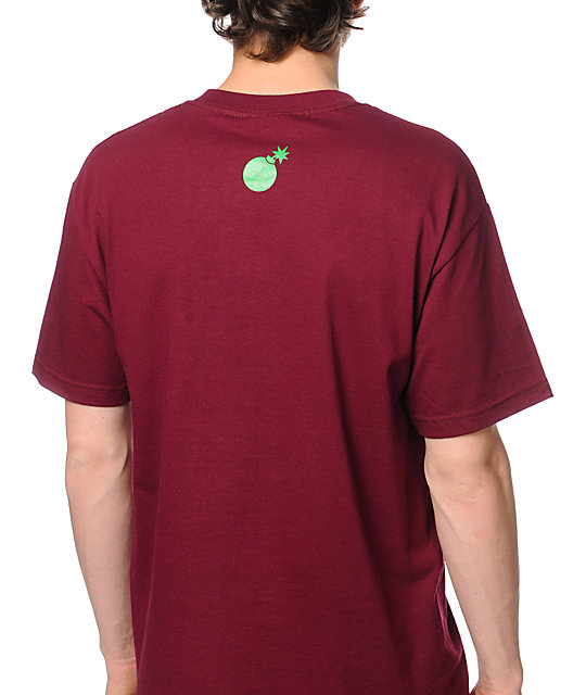 The Hundreds Alysha Burgundy T-Shirt